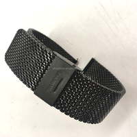 18mm 20mm 22mm 24mm PVD color stainless steel mesh watch band