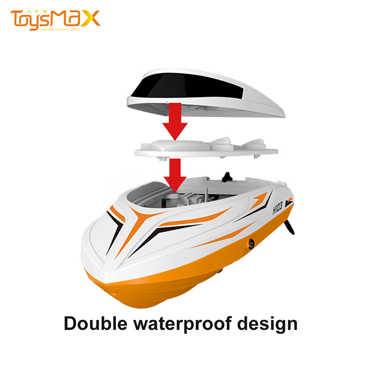 Radio Control RC Boat Ship 2.4G 4CH High Speed 30KM/H Rc Boat Toys