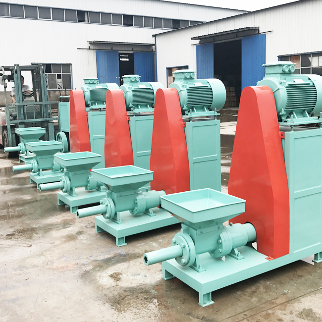 Waste Wood Recycling Sawdust Briquette Charcoal Making Machine