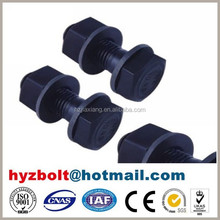 Black Finish Grade 8.8 hexagon head bolt