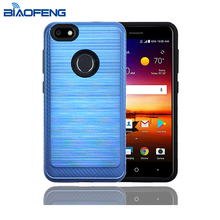 Factory Heat Dissipation Brushed Mobile Cover Custom Design Cell Case For Phone For Zte Blade X Z965