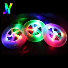 Custom Plastic LED Flashing Frisbee Toy Event Party Supplies frisbee