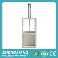 Electric gate for feed mill