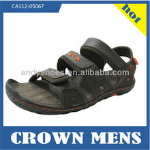 Most fashion pu model slide latest design sport mens sandal