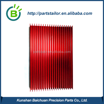 aluminum heat sink with factory prices BCS 0120