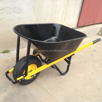 100L Heavy Construction Equipment Wheelbarrow WB8630