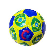 BALONES DE FUTBOL national flag children kids promotional mini football ball inflatable soccer ball size 1