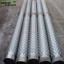 China supplier API J55 Stainless steel water well filter screen pipe casing /water well bridge slot screen