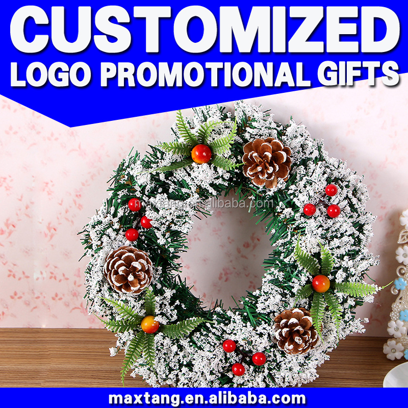 Wholesale Artificial Christmas Wreaths Christmas Wreaths Cheap Plastic Christmas Wreaths