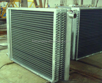 Air To Water Coil Heat Exchanger For Coating Machine