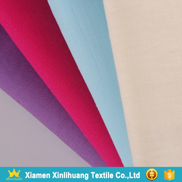China Manufacturer Wholesale 40S*40S 100 Cotton Poplin Fabric