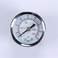 Good Quality Products China Easy To Read Clear Vacuum Oil Filled Pressure Gauge