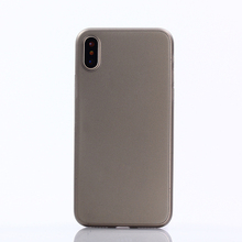 Simplicity Clear Transparent TPU Phone Cover Case For iPhone X
