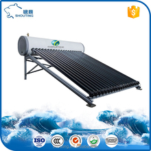Special Designed Pressurized Heat Pipe SUS Solar Water Heater for Mexico Market