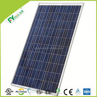 Hot sell TUV IEC Certified 255W polycrystal solar panel for home system