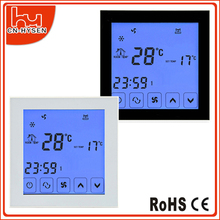 LCD PC shell touch screen Air Conditioner Parts Type terperature controller