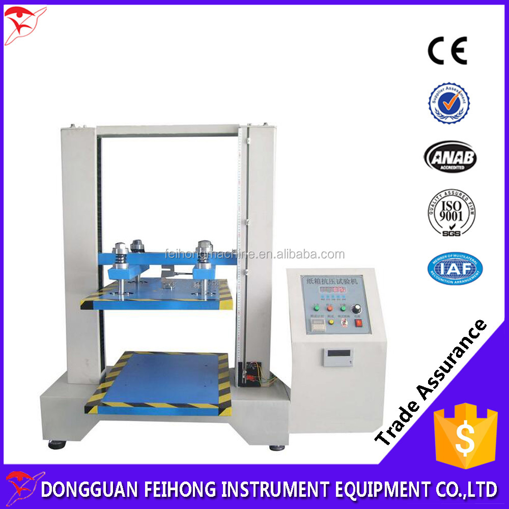 Large Capacity Carton Box Compression Strength Test Machine / Corrugated Box Compressive Fatigue tester
