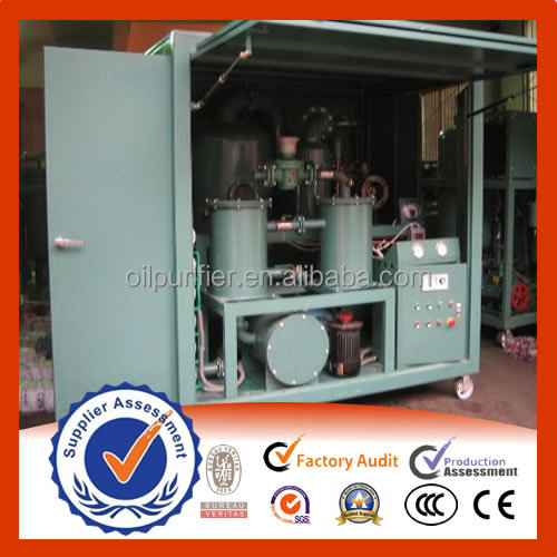 High voltage power Transformer oil treatment / Insulating oil purification machine