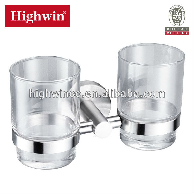 Highwin bathroom accessories stainless steel toothbrush holder