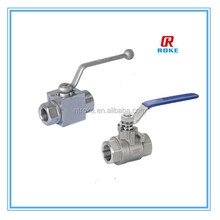 Alibaba products stainless steel 316 female thread with long handle ball valve