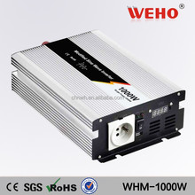 Adjustable voltage 12v to 220v Modified sine wave 1000w solar power inverter