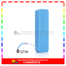 Best Power Bank 2600mAh Rechargeable With Stainless Steel Design NEW Perfume Style