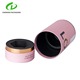 Matt paper tube cylinder round essential oil paper box packaging with EVA tray inside