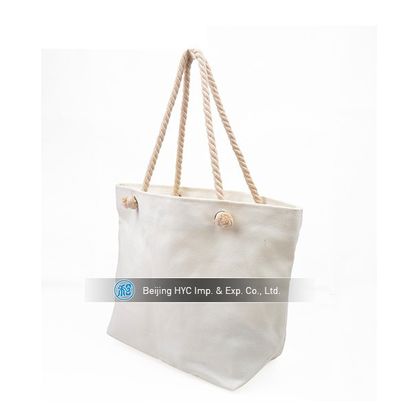 High quality cheap recycle oem production blank cotton canvas wholesale tote bags
