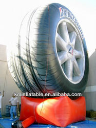 inflatable tire for advertising