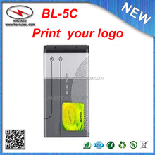 Best Price Rechargeable Battery BL-5C For Nokia China Mobile Phone Battery