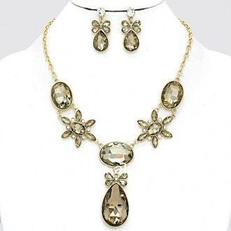 Texas Linked Fashion Long Necklace Set