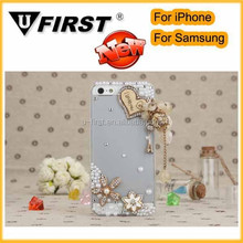 New design lovely bling phone case from competitive factory