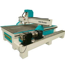 China manufactire woodworking carving machine cnc router 1325 wood milling machine 4 axis