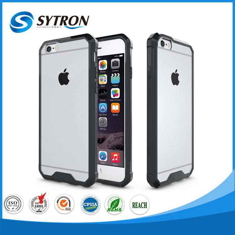 For Iphone 6 Transparent Armor Case Mobile Phone Cover For Iphone Case