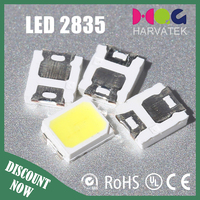 Good quality 60mA 5000-6500K sanan chip 2835 smd led specification