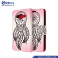 Leather Pu with design painting cartera phone case covers for Samsung Grand prime G530