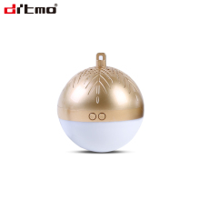 New product TWS LED christmas ball bluetooth wireless speaker with led light