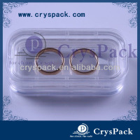 Transparent Denture little case dental tool box