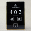 Smart Hotel Door Plate with Room Number DND MUR Wait