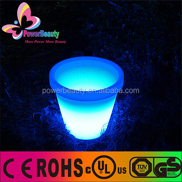 LED decorate light mini cherry flower lighting pot indoor LED flower pots, LED lighting planter