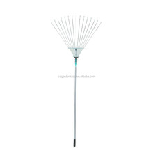 15T 45# steel scalable garden tools metal adjustable leaf rake