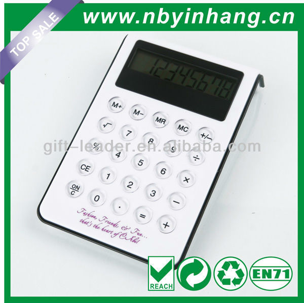 8 digit square desktop calculator with backlight XSDC0128