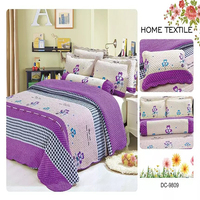 Hot selling New patchwork mulit-color hand block printed bed sheets