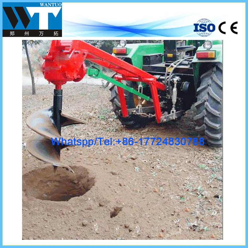 High efficiency tree planting drilling machine/earth auger for fruit trees