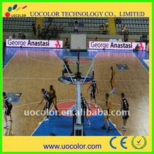 LED video screen sign for basketball game stadium