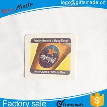 China manufacturer wholesale Custom cheap cardboard drink coasters