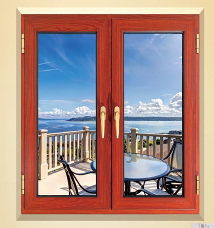 Aluminum window manufacturer colored window glass triangle for Aluminum window manufacturers