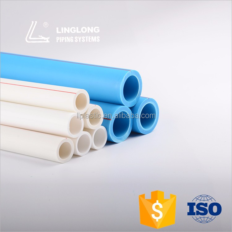 china manufacturer high pressure polypropylene water pipe for fluid control