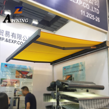 The multifunctional retractable roof awning retractable roof system outdoor motorized awning new 2018