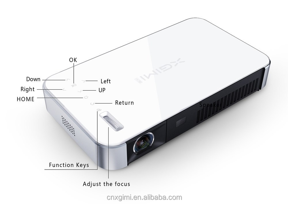 A smart TV---WMV/ASF/AVI/MP4/MPG/MPEG/3G multi video multimedia projector